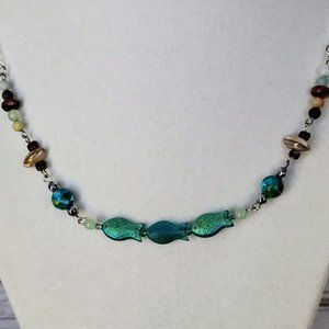 Coastal Beaded Necklace